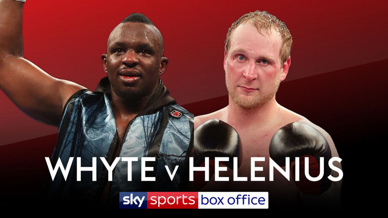Robert Helenius Promising A Knockout Of Dillian Whyte